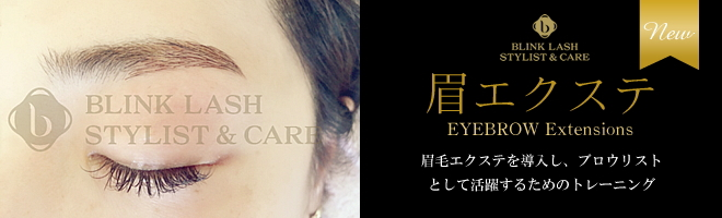 眉毛エクステンション|今後、サロンの新メニューとして眉毛エクステを導入し、ブロウリストとして活躍するためのトレーニング